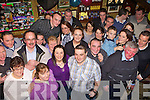Joesph O'Sullivan Beaufort front row centre celebrated his 30th birthday with his family and friends in the Vintage bar Killorglin on Saturday night