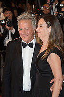 Dustin Hoffman &amp; Lisa Hoffman at the premiere for &quot;The Meyerowitz Stories&quot; at the 70th Festival de Cannes, Cannes, France. 21 May  2017<br /> Picture: Paul Smith/Featureflash/SilverHub 0208 004 5359 sales@silverhubmedia.com