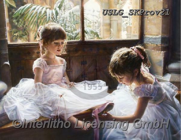 CHILDREN, KINDER, NIÑOS, paintings+++++,USLGSKPROV21,#K#, EVERYDAY ,Sandra Kock, victorian