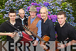 Entertainers pictured at the Spraoi Chiarrai Traditional music and storytelling summer concert at Deenagh Lodge on Saturday from left Mike Kelliher, William O'Sullivan Tim Evans, Tim O'Shea Colm Guilfoyle.