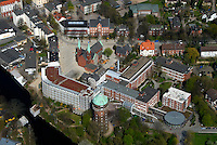 Gross Sand: EUROPA, DEUTSCHLAND, HAMBURG, (EUROPE, GERMANY), 13.04.2007:Hamburg Wilhelmsburg, Krankenhaus Gross Sand, Pflege, Wasserturm, Kirche, Bonifatiusstrasse, Sanierung, Mietshaus, Haus, Wohnen, IBA 2013,  Luftbild, Luftansicht, Luftaufnahme Air, Aufwind- Luftbilder..c o p y r i g h t : A U F W I N D - L U F T B I L D E R . de.G e r t r u d - B a e u m e r - S t i e g 1 0 2, .2 1 0 3 5 H a m b u r g , G e r m a n y.P h o n e + 4 9 (0) 1 7 1 - 6 8 6 6 0 6 9 .E m a i l H w e i 1 @ a o l . c o m.w w w . a u f w i n d - l u f t b i l d e r . d e.K o n t o : P o s t b a n k H a m b u r g .B l z : 2 0 0 1 0 0 2 0 .K o n t o : 5 8 3 6 5 7 2 0 9.C o p y r i g h t n u r f u e r j o u r n a l i s t i s c h Z w e c k e, keine P e r s o e n l i c h ke i t s r e c h t e v o r h a n d e n, V e r o e f f e n t l i c h u n g  n u r  m i t  H o n o r a r  n a c h M F M, N a m e n s n e n n u n g  u n d B e l e g e x e m p l a r !.