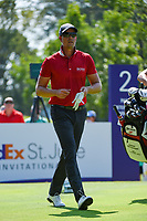 Henrik Stenson (SWE) heads down 2 during round 4 of the WGC FedEx St. Jude Invitational, TPC Southwind, Memphis, Tennessee, USA. 7/28/2019.<br /> Picture Ken Murray / Golffile.ie<br /> <br /> All photo usage must carry mandatory copyright credit (© Golffile | Ken Murray)