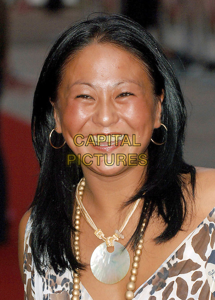 "LISA HUO.""You, Me and Dupree"" UK film premiere, Odeon Leicester Square, London, UK..August 22nd, 2006 .Ref: BEL.headshot portrait necklace.www.capitalpictures.com.sales@capitalpictures.com.©Tom Belcher/Capital Pictures."