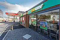 2019 04 10 Texaco Garage, Swansea, Wales, UK