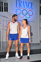 PICTURE BY DAVE WINTER/SWPIX.COM - Olympics - Presentation of the Adidas Kit that the French Olympic team will wear at London 2012  - Galerie Nikki, Place des Vosges, Paris, France - 27/03/12...