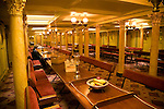 First class dining room, SS Great Britain maritime museum, Bristol, England
