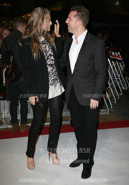 Holly Valance and Nick Candy arriving for the UK premiere of The Twilight Saga: Breaking Dawn Part 1 at Westfield Stratford City, London. 17/11/2011 Picture by: Alexandra Glen / Featureflash