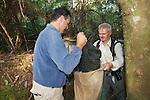David & Hugh Transfering Possum From Trap