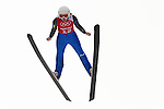 Julia Clair of France jumps during the Women's Normal Hill Individual training session of the 2014 Sochi Olympic Winter Games at Russki Gorki Ski Juming Center on February 9, 2014 in Sochi, Russia. Photo by Victor Fraile / Power Sport Images