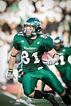 DENTON, TX  NOVEMBER 26: Johnny Quinn #81 - University of North Texas Mean Green vs Arkansas State University Red Wolves at Fouts Field in Denton on November 26, 2005 in Denton, TX. ASU won 31-24. Photo by Rick Yeatts