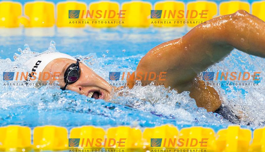 VAN ROUWENDAAL Sharon NED<br /> London, Queen Elizabeth II Olympic Park Pool <br /> LEN 2016 European Aquatics Elite Championships <br /> Swimming<br /> Women's 800m freestyle preliminary  <br /> Day 10 18-05-2016<br /> Photo Giorgio Perottino/Deepbluemedia/Insidefoto