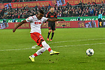 30.11.2019, Rheinenergiestadion, Köln, GER, DFL, 1. BL, 1. FC Koeln vs FC Augsburg, DFL regulations prohibit any use of photographs as image sequences and/or quasi-video<br /> <br /> im Bild Jhon Cordoba (#15, 1.FC Köln / Koeln)  macht das Tor zum 1:1<br /> <br /> Foto © nordphoto/Mauelshagen