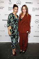 Kenya Kinski-Jones und Stella McCartney bei der Designer For Tomorrow by Fashion ID Show auf der Mercedes-Benz Fashion Week Berlin Spring/Summer 2018 im Kaufhaus Jandorf. Berlin, 06.07.2017