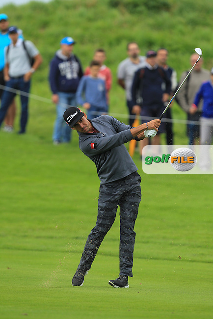 Raffa Cabrera-Bello (ESP) on the 13th fairway during Round 2 of the 100th Open de France, played at Le Golf National, Guyancourt, Paris, France. 01/07/2016. <br /> Picture: Thos Caffrey | Golffile<br /> <br /> All photos usage must carry mandatory copyright credit   (&copy; Golffile | Thos Caffrey)