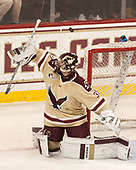 Joe Woll (BC - 31) - The Boston College Eagles defeated the University of Notre Dame Fighting Irish 6-4 (EN) on Saturday, January 28, 2017, at Kelley Rink in Conte Forum in Chestnut Hill, Massachusetts.The Boston College Eagles defeated the University of Notre Dame Fighting Irish 6-4 (EN) on Saturday, January 28, 2017, at Kelley Rink in Conte Forum in Chestnut Hill, Massachusetts.