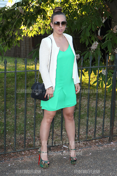 Chloe Green  arriving for the Serpentine Summer Party, at the Serpentine Gallery, Hyde Park, London. 01/07/2014 Picture by: Alexandra Glen / Featureflash