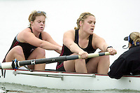 REDWOOD SHORES, CA - JANUARY 2002:  Sabrina Kolker of the Stanford Cardinal during practice in January 2002 in Redwood Shores, California.