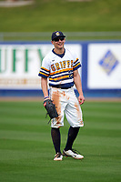 Canisius College Golden Griffins right fielder John Conti (23) during the second game of a doubleheader against the Michigan Wolverines on February 20, 2016 at Tradition Field in St. Lucie, Florida.  Michigan defeated Canisius 3-0.  (Mike Janes/Four Seam Images)