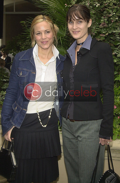 Maria Bello and Carrie-Anne Moss