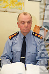 GARDAI: Speaking to the media at the Garda Press Conference in Killorglin Garda Station on Monday, Superintendent Pat OSullivan,