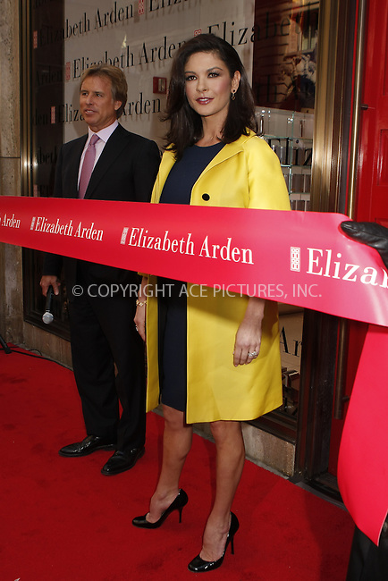WWW.ACEPIXS.COM . . . . .  ....March 6, 2008. New York City.....Actress Catherine Zeta-Jones opens up the new Elizabeth Arden Global Flagship store on 5th Avenu.......Please byline: AJ Sokalner - ACEPIXS.COM.... *** ***..Ace Pictures, Inc:  ..Philip Vaughan (646) 769 0430..e-mail: info@acepixs.com..web: http://www.acepixs.com