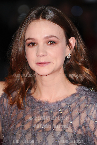 Carey Mulligan at the BFI London Film Festival premiere of &quot;Suffragette&quot; at the Odeon Leicester Square, London.<br /> October 7, 2015  London, UK<br /> Picture: Steve Vas / Featureflash