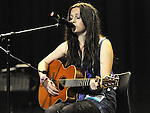 Ellie O'Neill Ratoath performing in the School Stars auditions in the TLT Drogheda. Photo: Colin Bell/pressphotos.ie