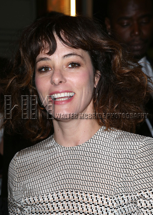 Parker Posey  attends the Broadway Opening Night Performance of 'The Glass Menagerie' at the Booth Theatre in New York City on September 16, 2013.