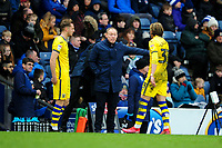 Steve Cooper Head Coach of Swansea City gives instructions to Conor Gallagher of Swansea City during the Sky Bet Championship match between Blackburn Rovers and Swansea City at Ewood Park on in Blackburn, England, UK. Saturday 29 February 2020