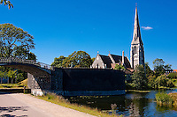 Saint Albans Anglican Church in Copenhagen, Denmark.