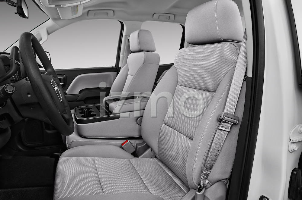 Front seat view of 2018 GMC Sierra-2500HD 2WD-Double-Cab-Long-Box 4 Door Pick-up Front Seat  car photos