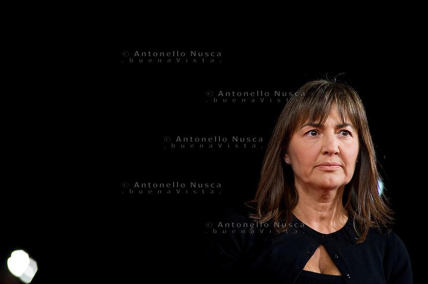 Roma, 27 Ottobre, 2011. Renata Polverini al Festival del Cinema a Roma
