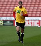 Jack O'Connell of Sheffield United during the English Football League One match at Bramall Lane, Sheffield. Picture date: November 19th, 2016. Pic Jamie Tyerman/Sportimage