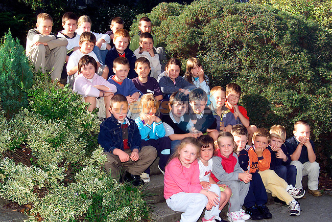 Senior Infants up to 6th class in Le Cheile School..Picture: Paul Mohan/Newsfile
