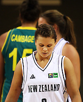 Tall Ferns guard Susie Bates during the International women's basketball match between NZ Tall Ferns and Australian Opals at Te Rauparaha Stadium, Porirua, Wellington, New Zealand on Monday 31 August 2009. Photo: Dave Lintott / lintottphoto.co.nz