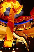 Lobby, Pan Pacific Hotel, Minato Mirai 21 waterfront development, Yokohama, Japan