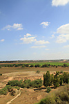 Israel, Northern Negev, a view of Nahal Besor from Tel Gamma
