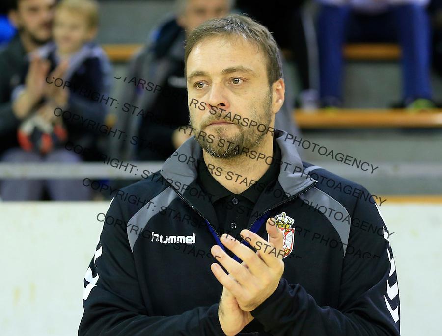 Rukomet-Handball<br /> Srbija v Rumunija-Prijateljski mec friendly match<br /> Head coach Dejan Peric <br /> Beograd, 28.12.2015.<br /> foto: Srdjan Stevanovic/Starsportphoto&copy;