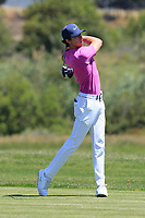Pep Angles (ESP) during the third round of the Rocco Forte Sicilian Open played at Verdura Resort, Agrigento, Sicily, Italy 12/05/2018.<br /> Picture: Golffile   Phil Inglis<br /> <br /> <br /> All photo usage must carry mandatory copyright credit (&copy; Golffile   Phil Inglis)
