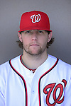VIERA, FL - FEBRUARY 10:  Pitcher Drew Storen of the Washington Nationals Baseball Club poses for a photo at Spacecoast Stadium February 10, 2013 in Viera, Florida (Photo by Donald Miralle for the Washington Nationals Baseball Club)