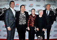 "LOS ANGELES, USA. November 21, 2019: Jon Hamm, Paul Walter Hauser, Kathy Bates, Barbara ""Bobi"" Jewell & Clint Eastwood at the world premiere for ""Richard Jewell"" as part of the AFI Fest 2019 at the TCL Chinese Theatre.<br /> Picture: Paul Smith/Featureflash"