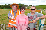 Pictured at the Abbeyfeale Horse and Pony Racing held last Sunday in Relihan's Inch, Kilcara, Duagh John Downey, Knocknagoshel, Mary Dore and  John Woulfe, Duagh.