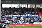 10.03.2019,  GER; 2. FBL, FC St. Pauli vs Hamburger SV ,DFL REGULATIONS PROHIBIT ANY USE OF PHOTOGRAPHS AS IMAGE SEQUENCES AND/OR QUASI-VIDEO, im Bild Feature Spielbeginn Fankurve des HSV Foto © nordphoto / Witke
