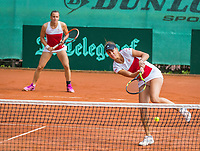The Hague, Netherlands, 11 June, 2017, Tennis, Play-Offs Competition, woman's doubles, Para/Zaniewska, Egeria Alto<br /> Photo: Henk Koster/tennisimages.com