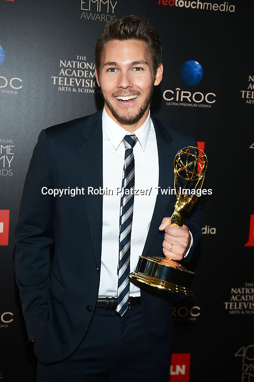 winner Scott Clifton attends The 40th Annual Daytime Emmy Awards on<br />  June 16, 2013 at the Beverly Hilton Hotel in Beverly Hills, California.