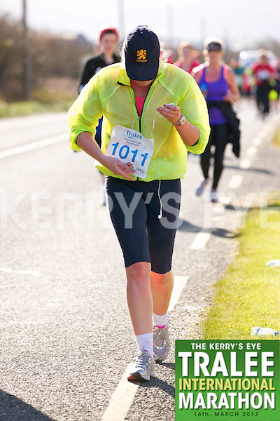 1011 Nollaig Barry who took part in the Kerry's Eye, Tralee International Marathon on Saturday March 16th 2013.
