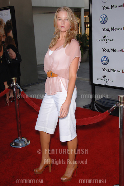 "Actress RACHEL NICHOLS at the world premiere, in Hollywood, of ""You, Me and Dupree""..July 10, 2006  Los Angeles, CA.© 2006 Paul Smith / Featureflash"