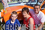DAY OUT: Having a family day out at the Killarney Easter Vintage Rally on Sunday were Daniel, Chris and James Looney of Headford..