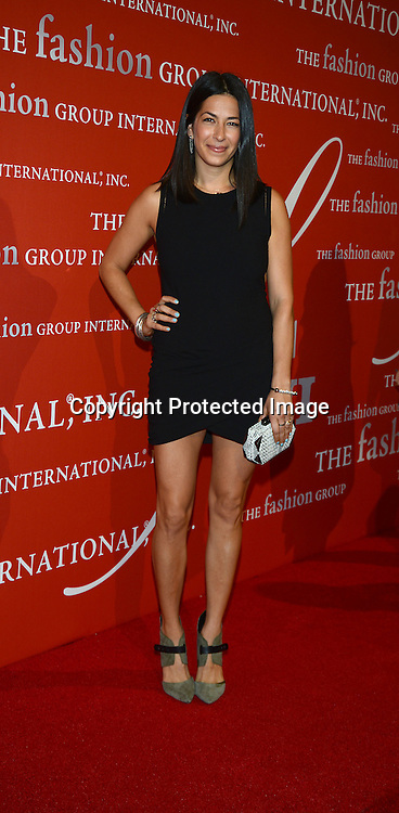 Rebecca Minkoff attends the Fashion Group International's Night of Stars Gala on October 22, 2013 at Cipriani Wall Street in New York City.