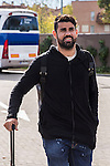 Spainsh Diego Costa arriving at the concentration of the spanish national football team in the city of football of Las Rozas in Madrid, Spain. November 08, 2016. (ALTERPHOTOS/Rodrigo Jimenez)